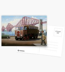 Scammell 8 at the Forth Bridge Postcards