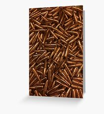 223 bullets, ammo Greeting Card