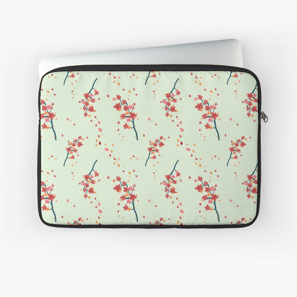 Branches with flowers Laptop Sleeve