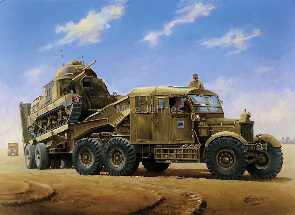 Scammell Pioneer  by Mike Jeffries