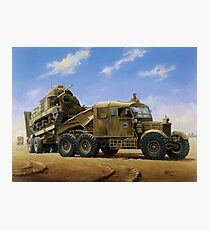 Scammell Pioneer  Photographic Print