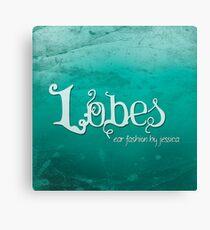 Marketing Book Cover: Lobes Canvas Print