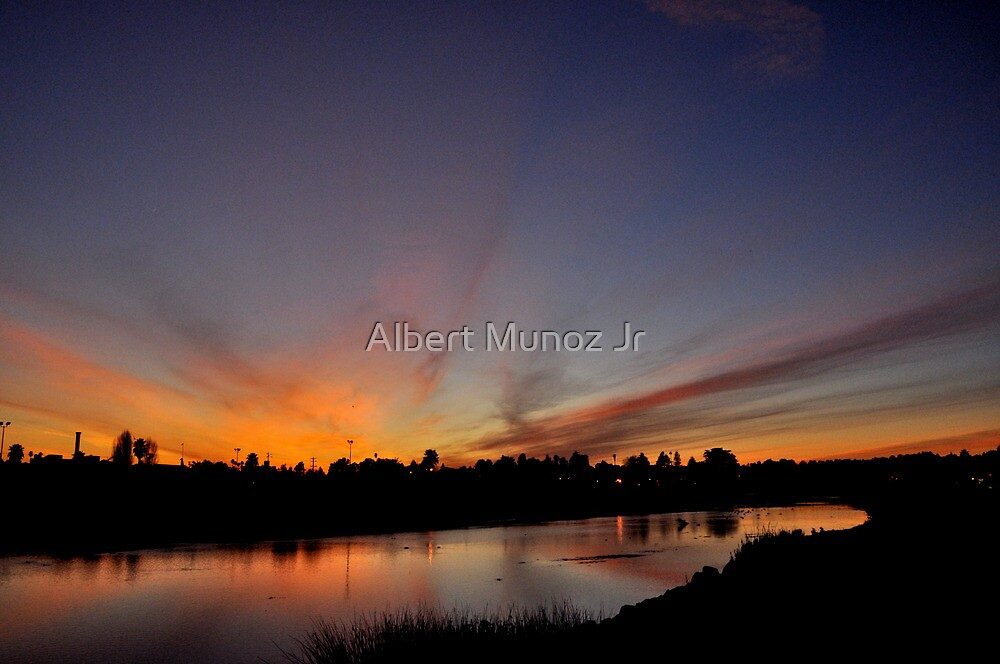 Warm Sun Set by Albert Munoz Jr