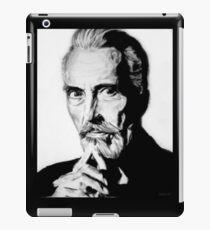 Sir Christopher Lee iPad Case/Skin