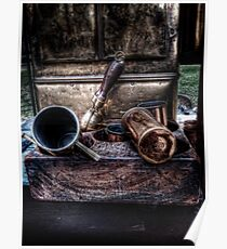 Coffee Implements Poster