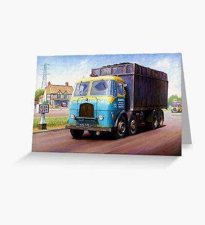 TVW bulk coal lorry Greeting Card