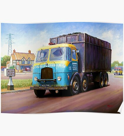TVW bulk coal lorry Poster