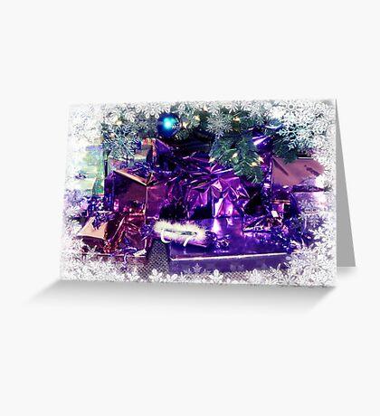 Purple Christmas © Greeting Card