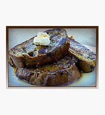 Sweet Potato French Toast Photographic Print