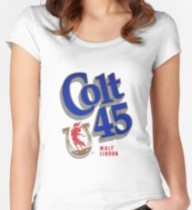 Colt 45 Women's Fitted Scoop T-Shirt