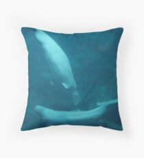 Beluga Dance Throw Pillow