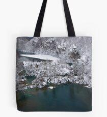 Lake and ice Tote Bag