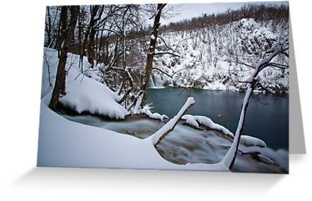 Cold waterfalls by Ivan Coric
