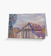 Maurice Car'rie Barn (pastel) Greeting Card