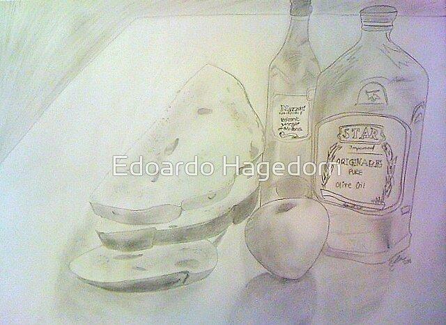 Bread Still Life by Edoardo Hagedorn