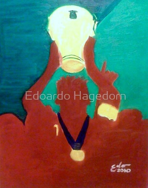 2010 South Africa World Cup by Edoardo Hagedorn