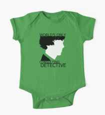 World's Only Consulting Detective One Piece - Short Sleeve