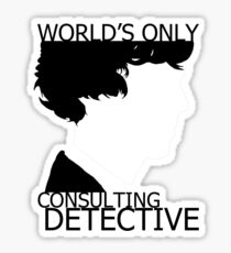World's Only Consulting Detective Sticker