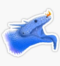 Blue Tongue Dragon Sticker