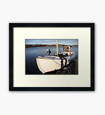 Boat, West Sweden Framed Print