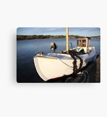 Boat, West Sweden Canvas Print