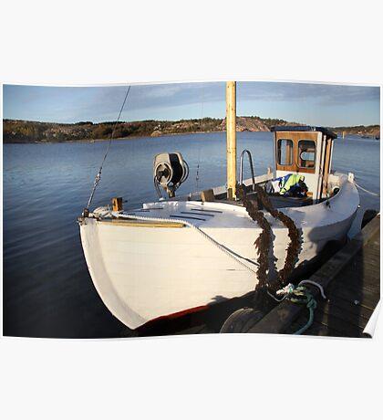 Boat, West Sweden Poster