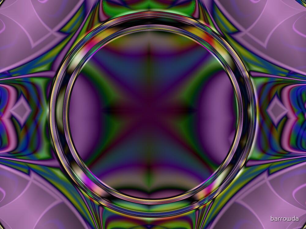 Purple Porthole Picture Frame  (UF0545) by barrowda