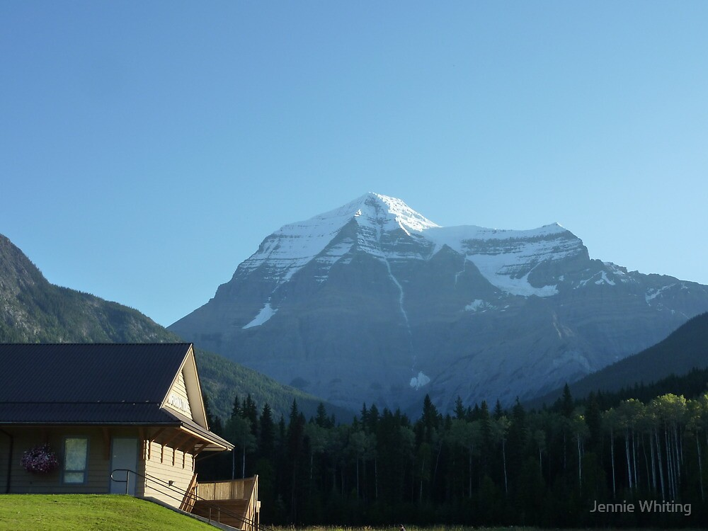 Mount Robson by Jennie Whiting