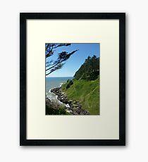 Oregon Coastline Framed Print