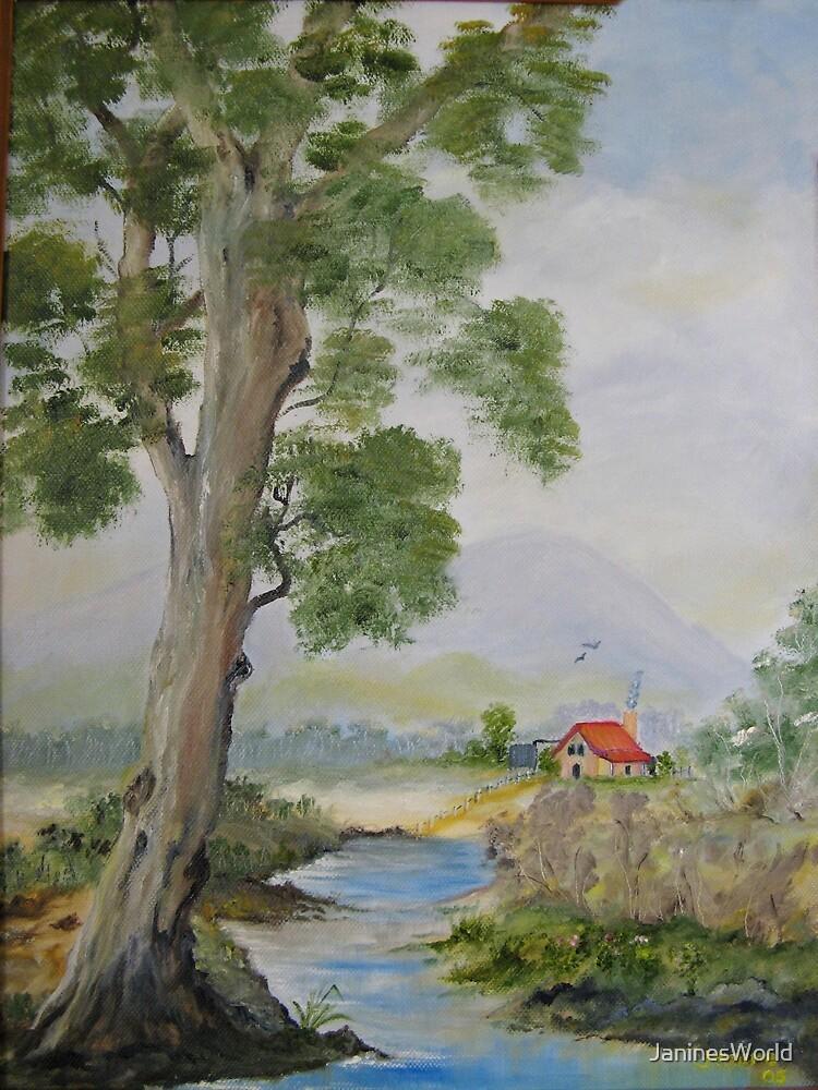 Aussie Country Scene by JaninesWorld
