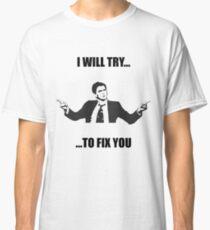 David Tennant: Fix You Classic T-Shirt