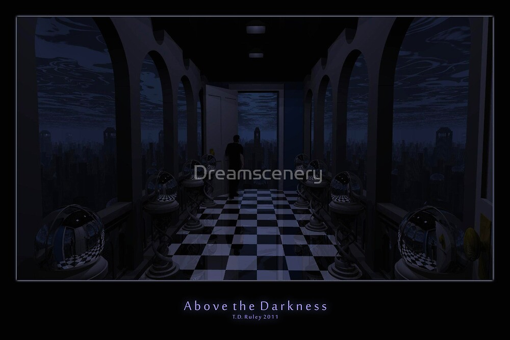 Above the Darkness by Dreamscenery
