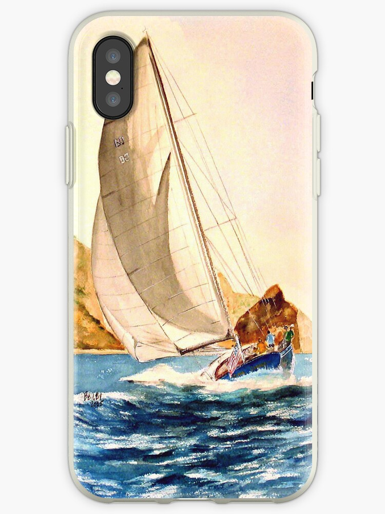 Hulldown-IPhone Case by Rob Beilby