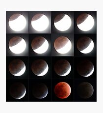 Lunar Eclipse 10th December, 2011 Photographic Print
