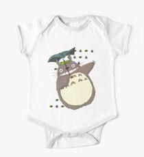 Totoro Katzenbus Baby Body Kurzarm