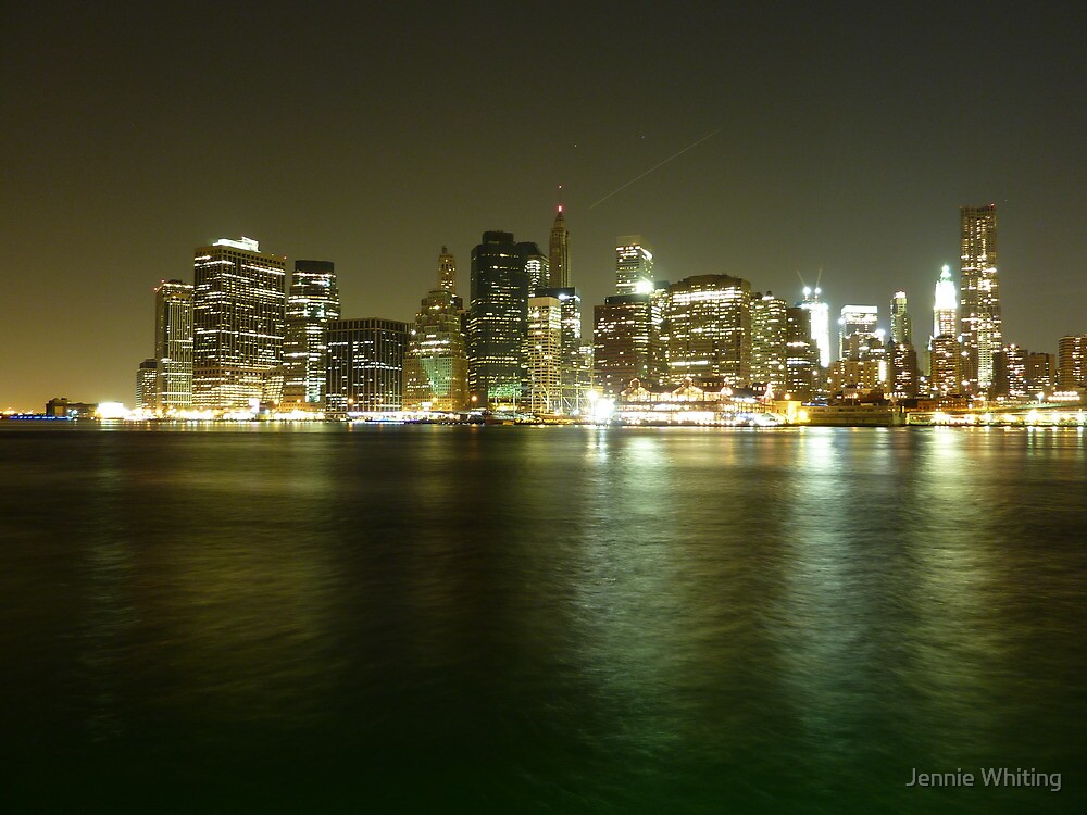 Downtown Manhattan by Jennie Whiting