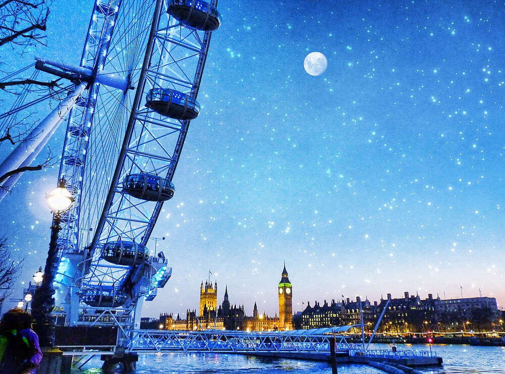 A London Christmas by Nick  Kenrick Photography