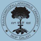 Raxacoricofallapatorious University by charliebuterfly