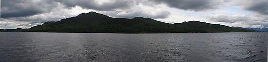Loch Katrine Panorama by Gemma Cooles