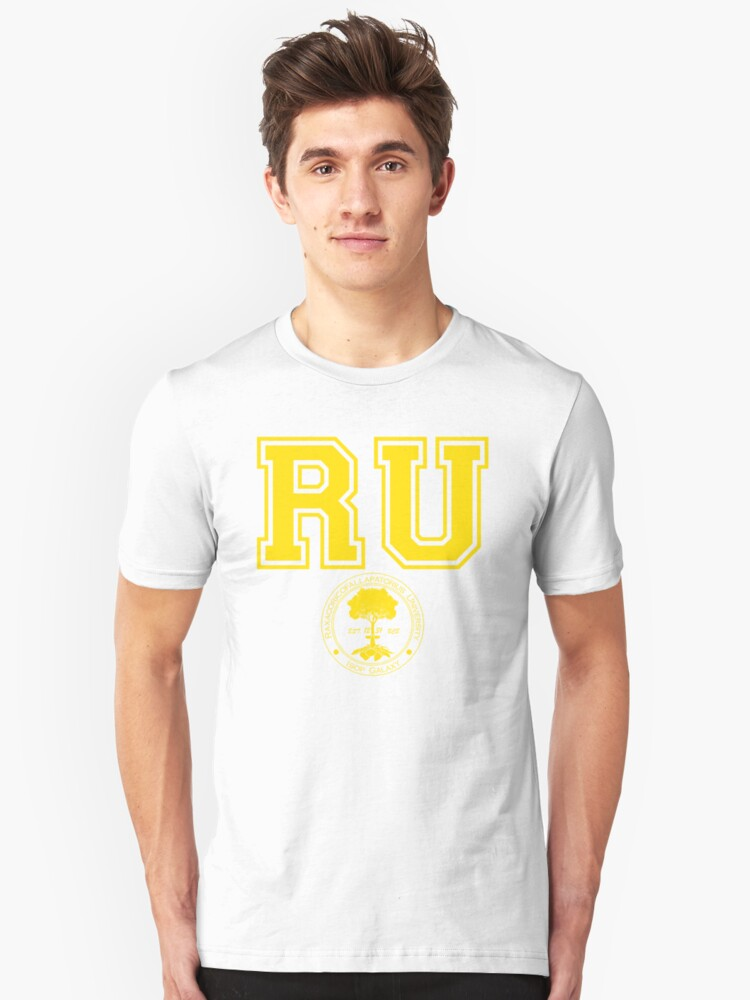 RU- Raxacoricofallapatorious  University (Yellow) by charliebuterfly