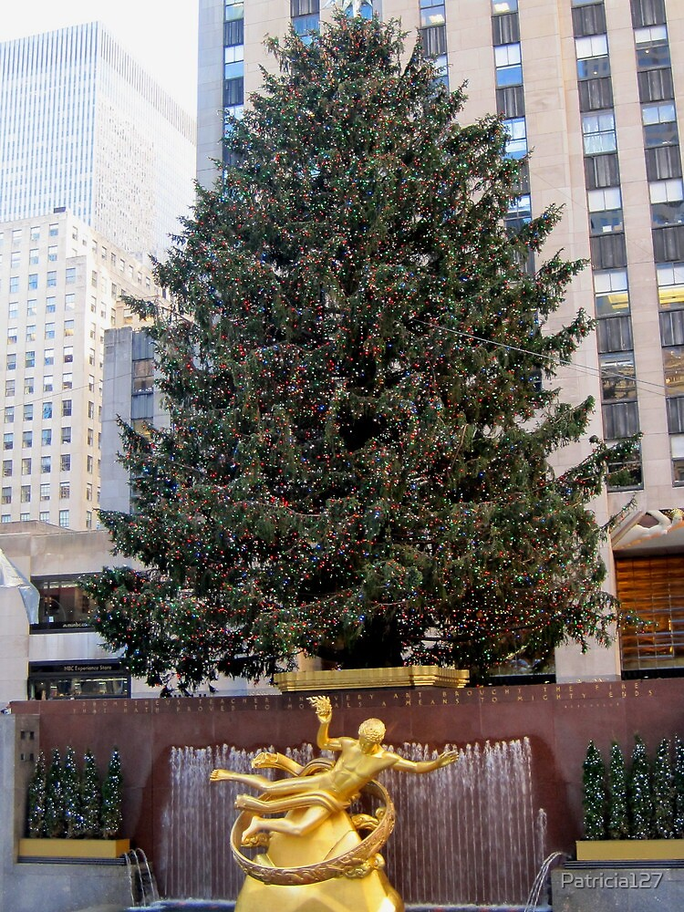 The Rockefeller Center Christmas Tree 2011 by Patricia127