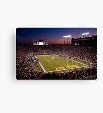 Lambeau at Sunset Canvas Print
