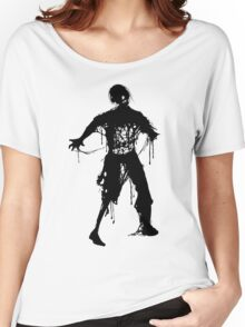 Decaying Zombie Women's Relaxed Fit T-Shirt