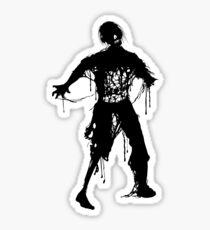 Decaying Zombie Sticker