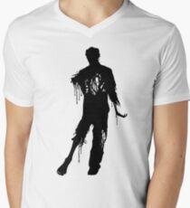 Decaying Zombie 2 Men's V-Neck T-Shirt