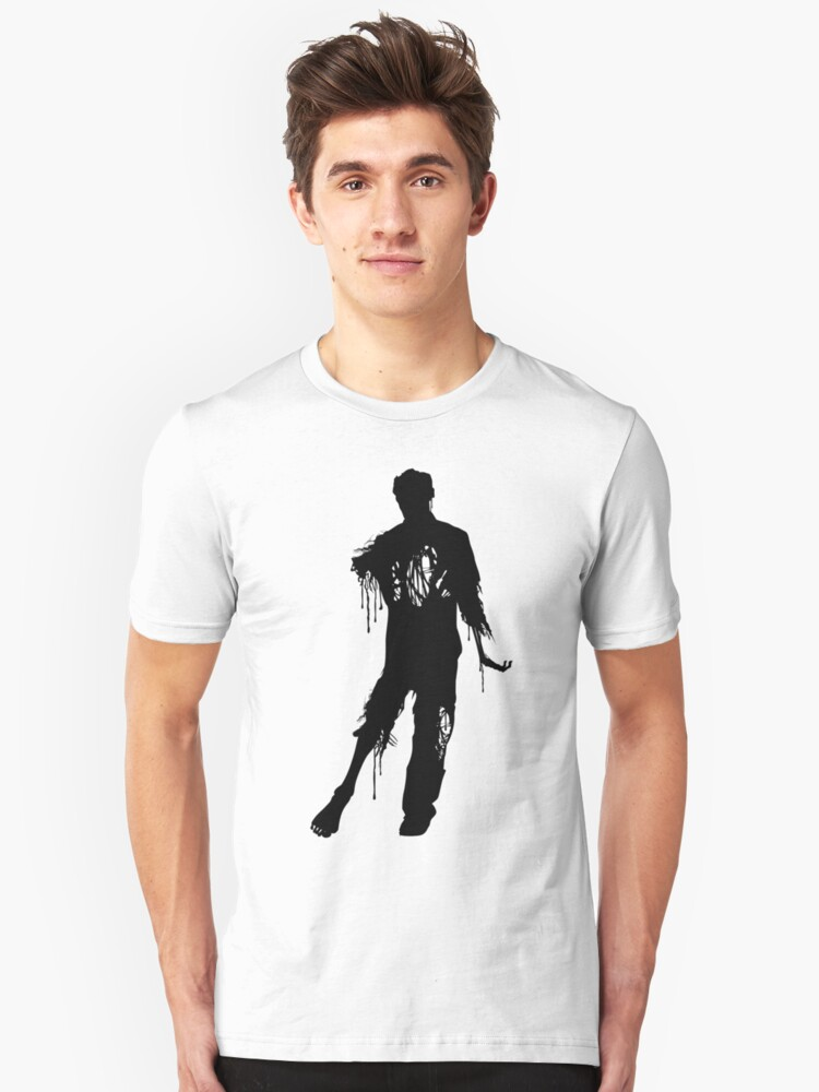 Decaying Zombie 2 Unisex T-Shirt Front