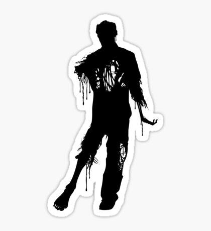 Decaying Zombie 2 Sticker