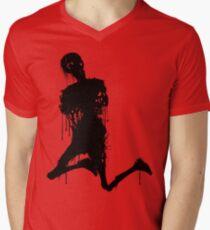Decaying Zombie 3 Men's V-Neck T-Shirt