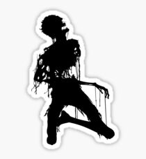 Decaying Zombie 4 Sticker