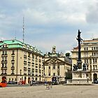 Am Hof Square, Vienna by Graeme  Hyde